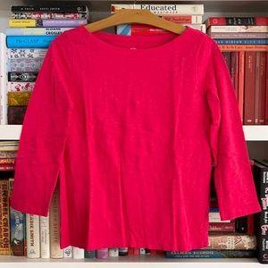 J. Crew Slub Tee Knit Goods Pink Size XS